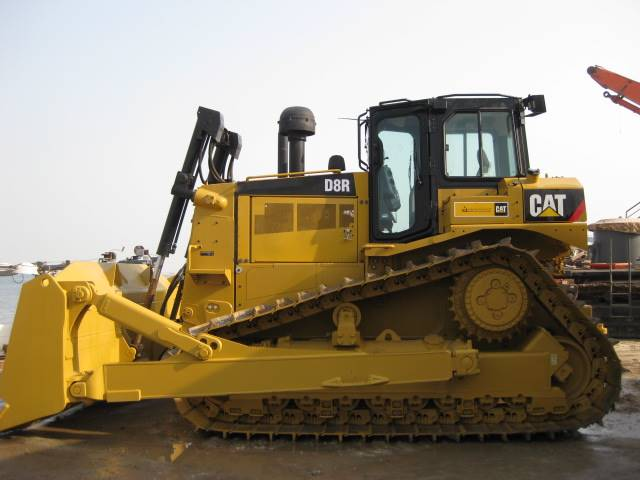 Caterpillar D8R LGP, Dozers, Construction