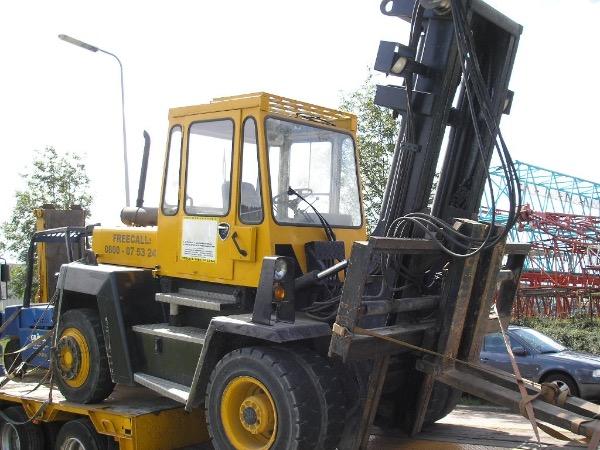 Svetruck 860-26, Diesel trucks, Materialtransport
