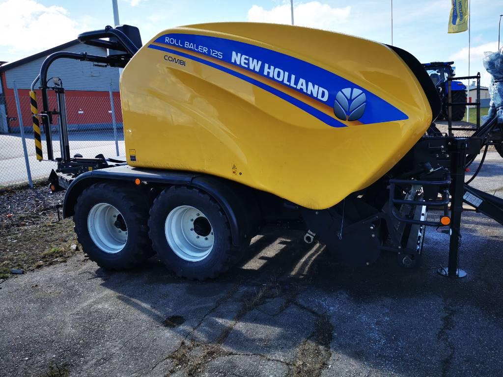 New Holland RB125, Rundbalspressar, Lantbruk