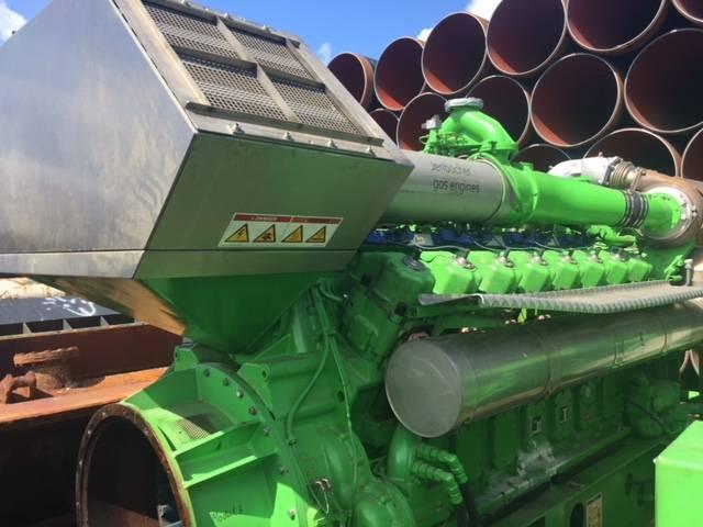Jenbacher Werke J 616 - Generator Set 2450 kVa - DPH 105052, Electric Power Generation, Construction