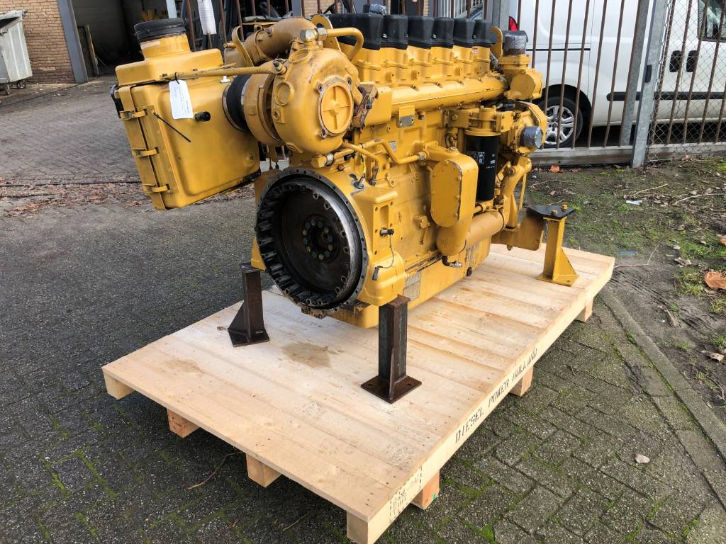 Caterpillar 3406 E - Marine Propulsion - 354 kW - 9WR, Marine Applications, Construction