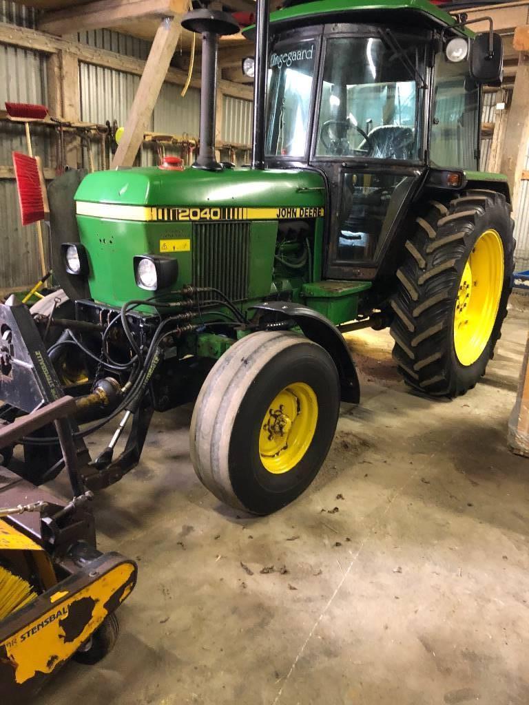 John Deere 2040-2WD, Traktorer, Landbrug