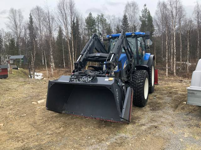 New Holland T 6020 Elite, Traktorit, Maatalous