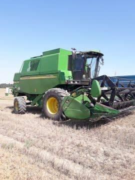 John Deere 1550 CWS, Kombajny zbożowe, Maszyny rolnicze