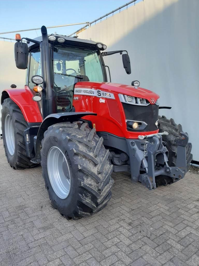 Massey Ferguson 6715 S Efficient, Tractoren, Landbouw