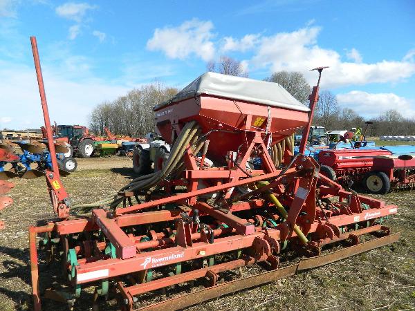 Kverneland Compakt, Kombinētās sējmašīnas, Lauksaimniecība