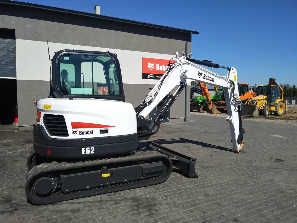Bobcat E 62  DEALER, Mini digger, Construction Equipment