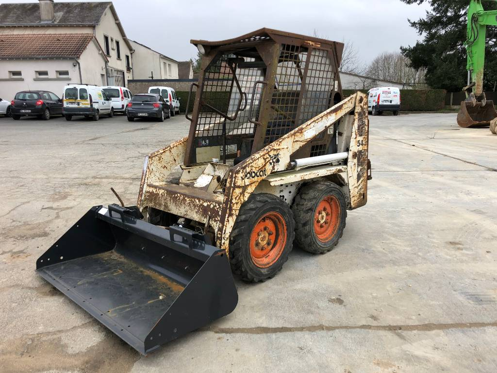 Bobcat 543, Skid Steer Loaders, Construction Equipment
