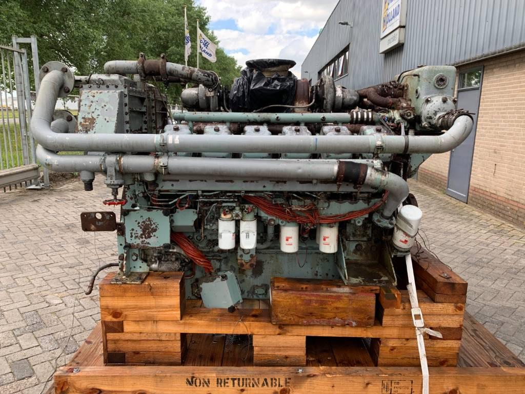 Mitsubishi - S12A2 - Marine Prop. - 940HP - 1940RPM, Marine Applications, Construction