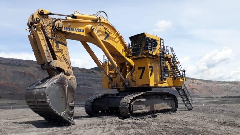 Komatsu PC4000-11, Front Shovel Excavators, Construction Equipment