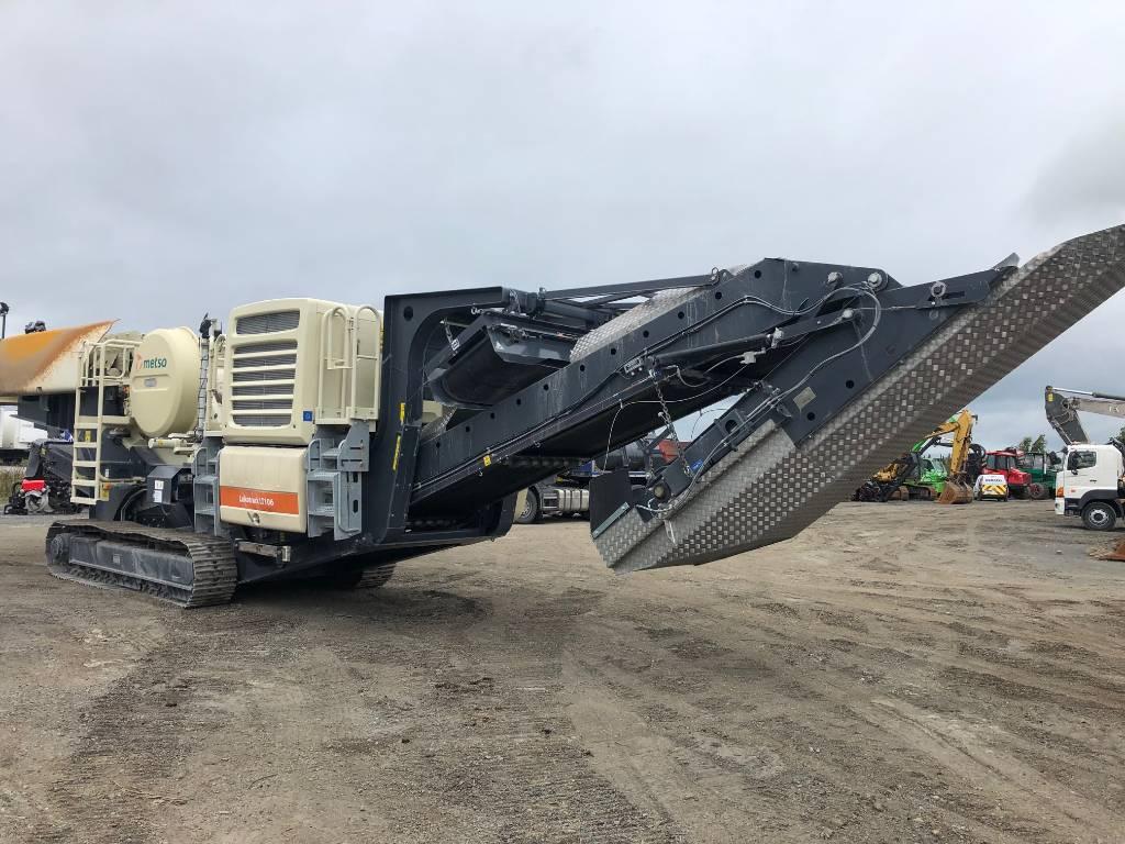 Metso LT106, Mobile crushers, Construction Equipment
