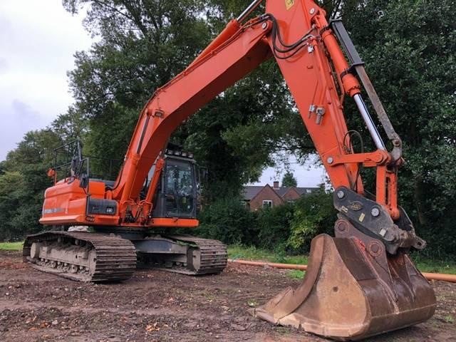 Doosan DX 225 LC-3, Crawler Excavators, Construction Equipment