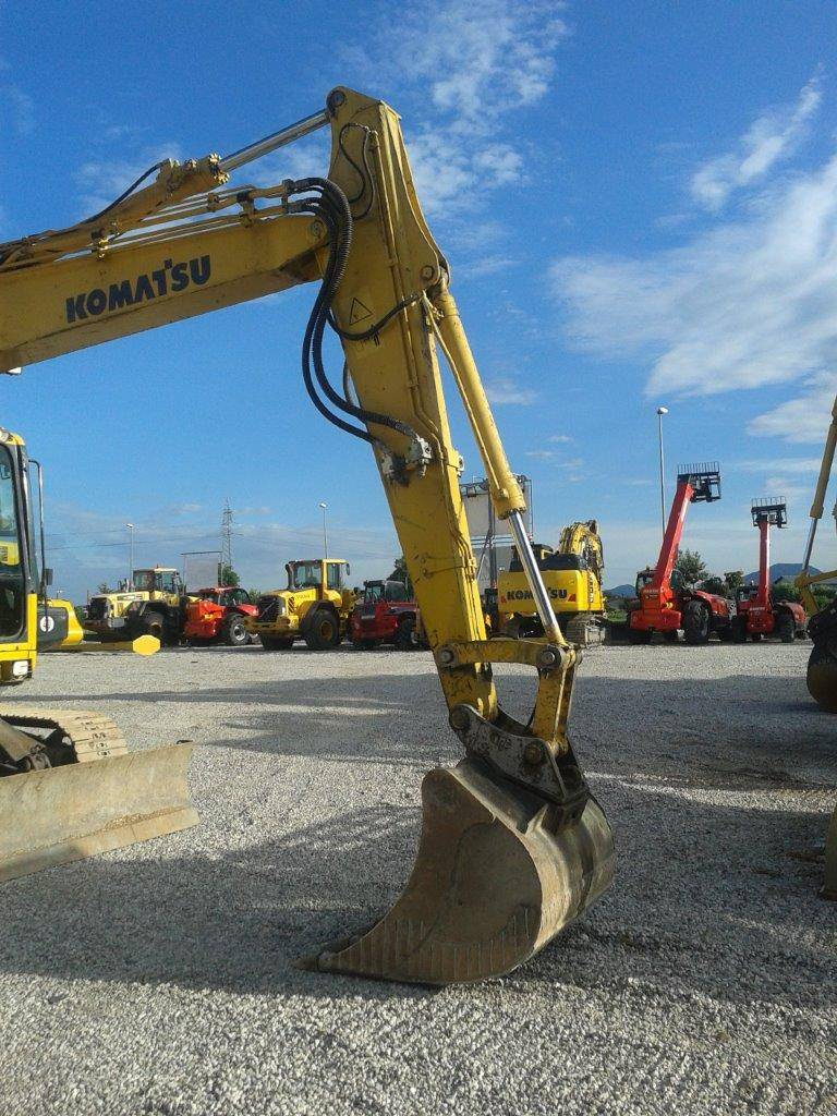 Komatsu PC138US-8, Crawler Excavators, Construction Equipment