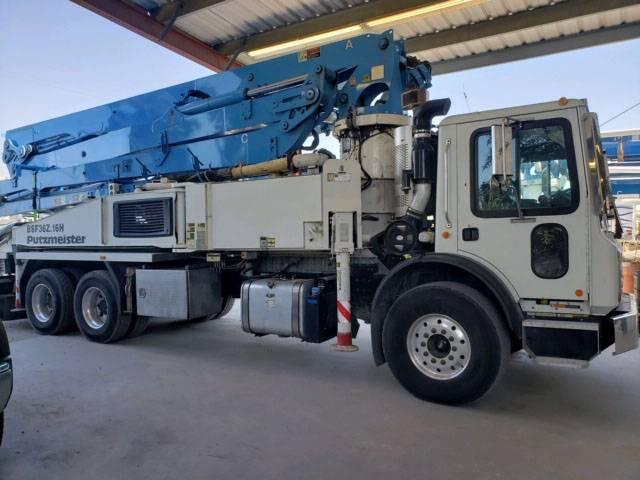 Putzmeister BSF 36Z.12H, Boom Pumps, Construction Equipment