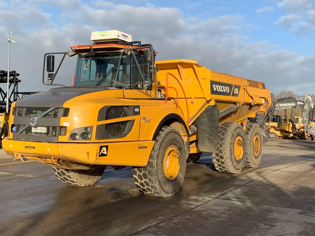 Volvo A 25 G, Articulated Dump Trucks (ADTs), Construction