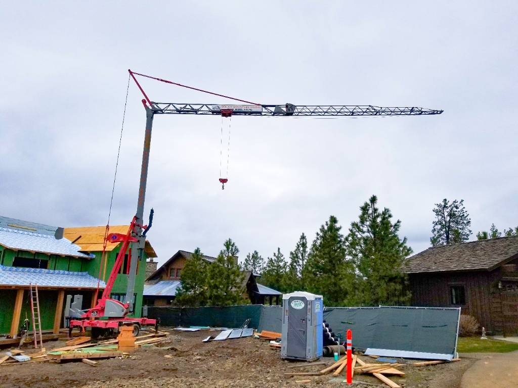 Potain MA13, Tower Cranes, Construction Equipment