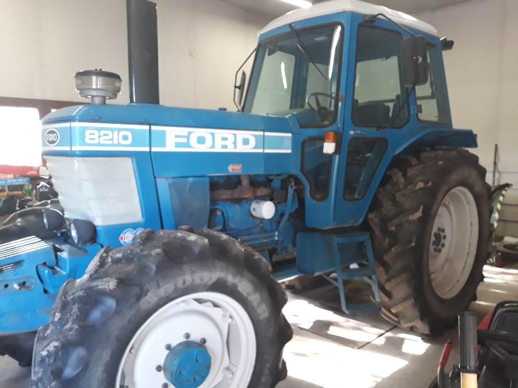 Ford 8210, Traktorit, Maatalous