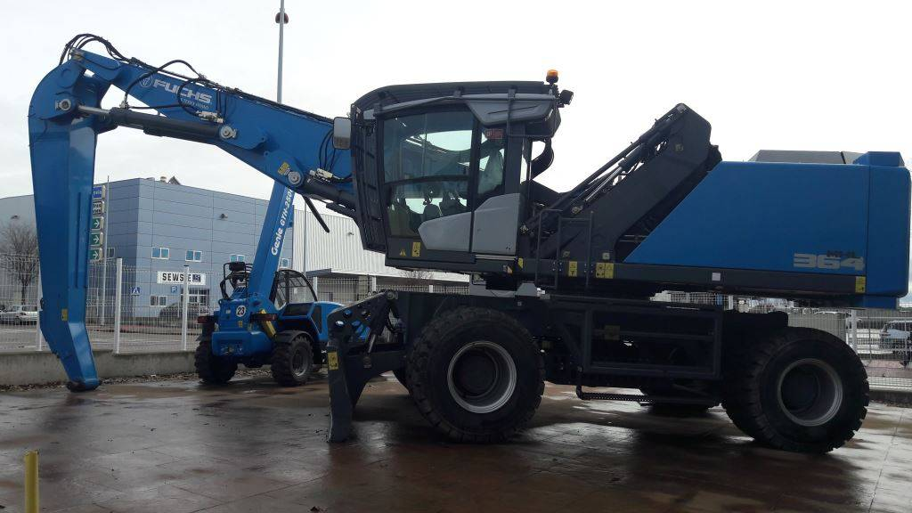 Fuchs MHL364F, Forestry Excavators, Forestry Equipment