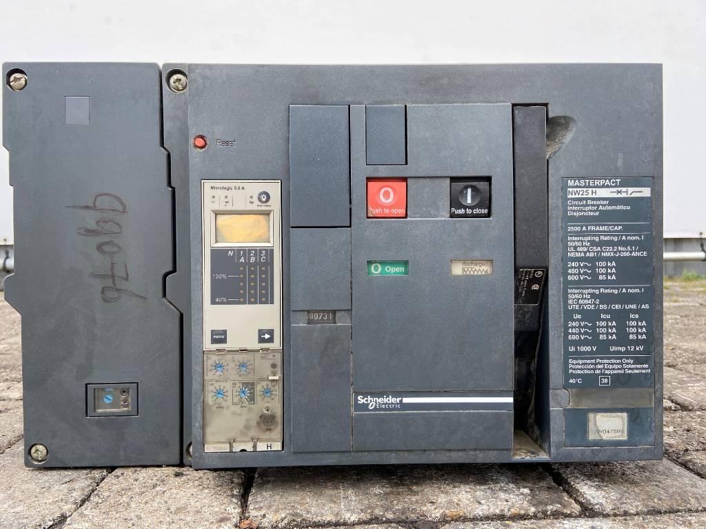 Schneider NW25H Breaker - 2.500A -  DPX-99076, Electronics, Bouw