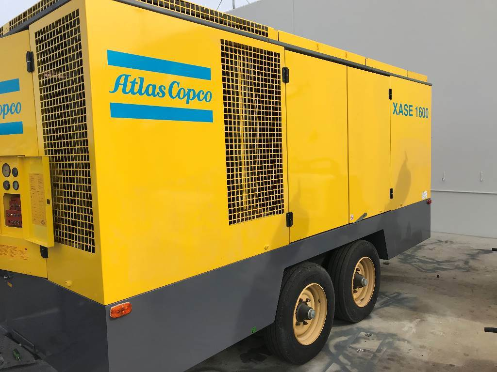 Atlas Copco XAS 1600 (Refurb), Compressors, Construction