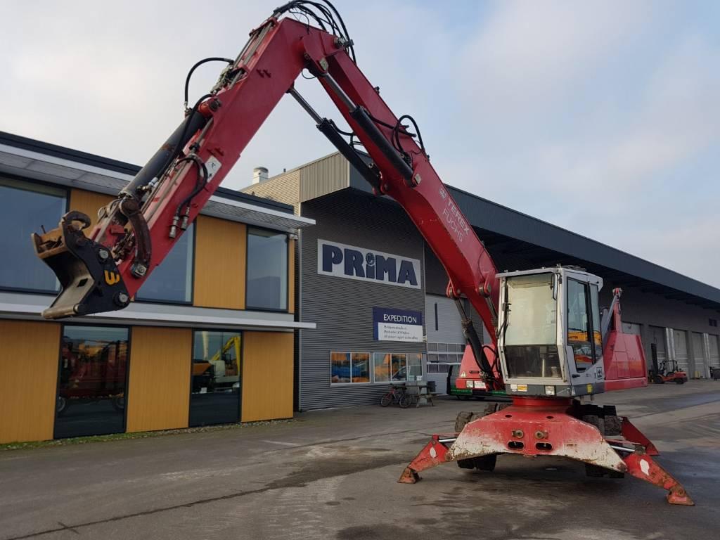 Fuchs MHL 331 C, Waste / Industry Handlers, Construction Equipment