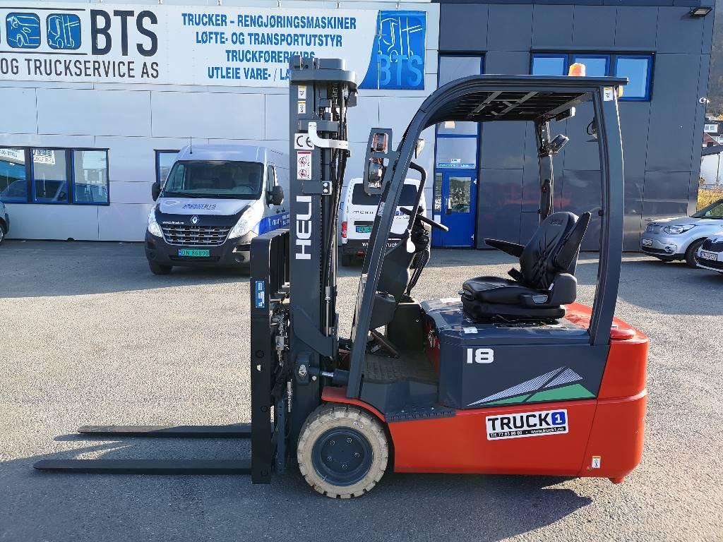 Heli CPD18SQ - 1,75 t el. truck - 4,7 m LH (SOLGT), Elektriske trucker, Truck