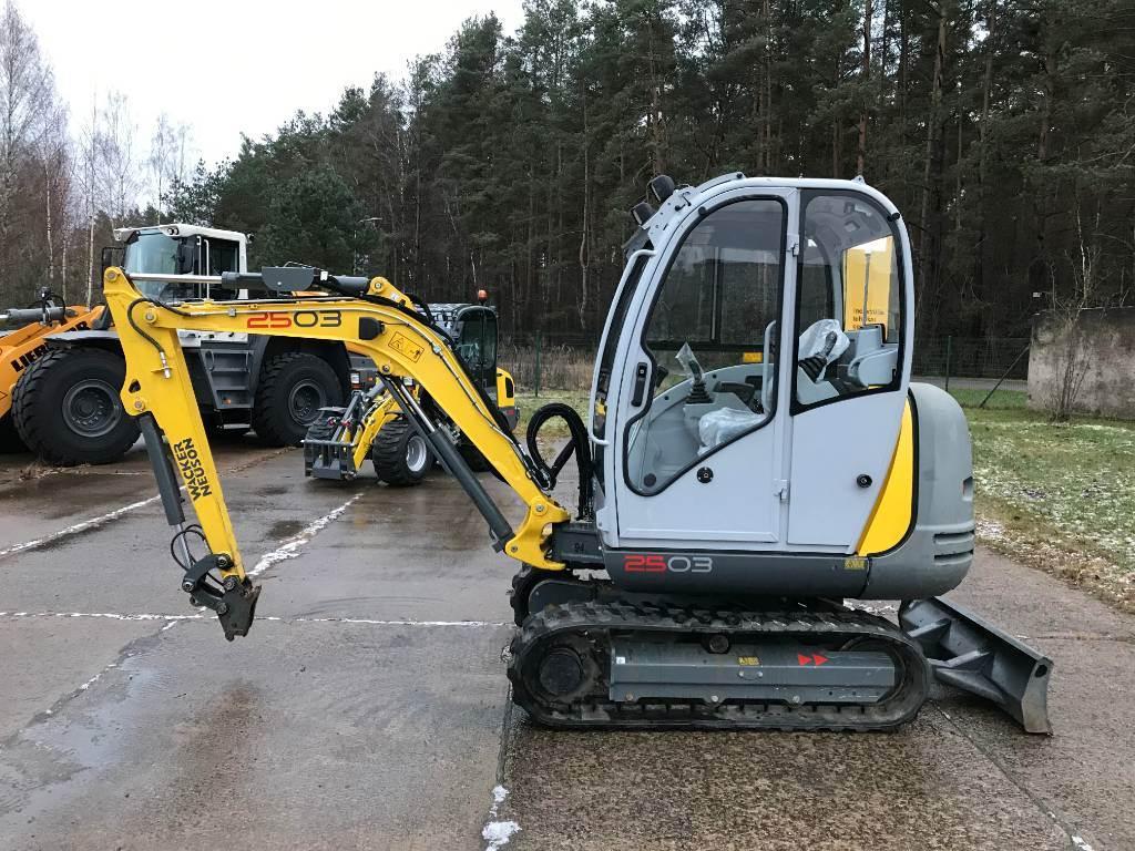 Wacker Neuson 2503, Tracked / Mini excavators, Products