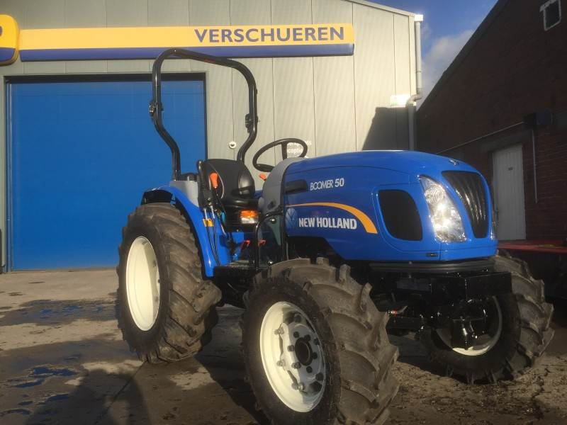 New Holland Boomer 50, Compacttrekkers, Terreinbeheer