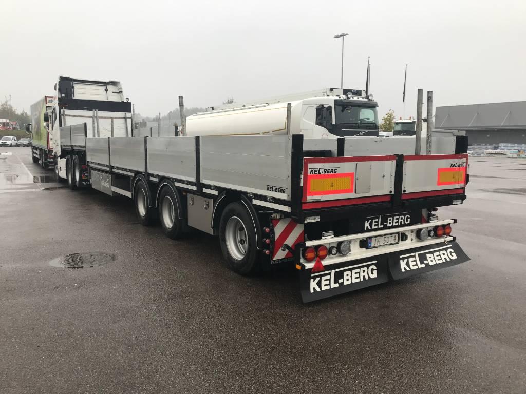 Kel-Berg S650V Jumbo, Andre semitrailere, Transport