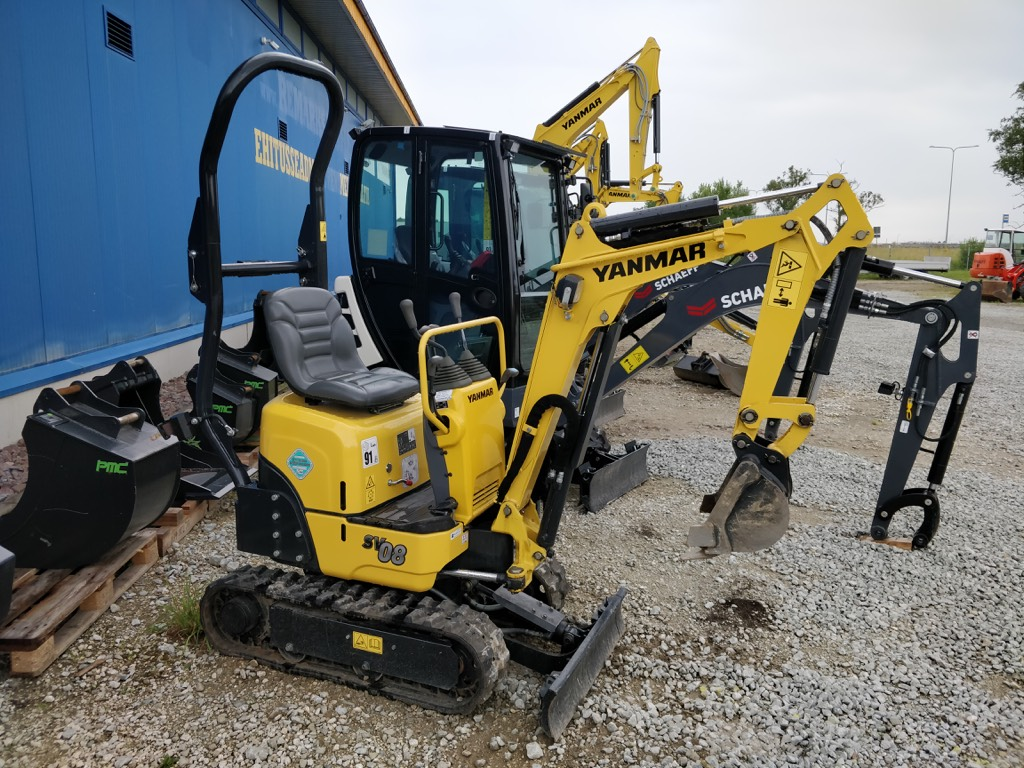 Yanmar SV 08-1 A, Mini excavators < 7t (Mini diggers), Construction