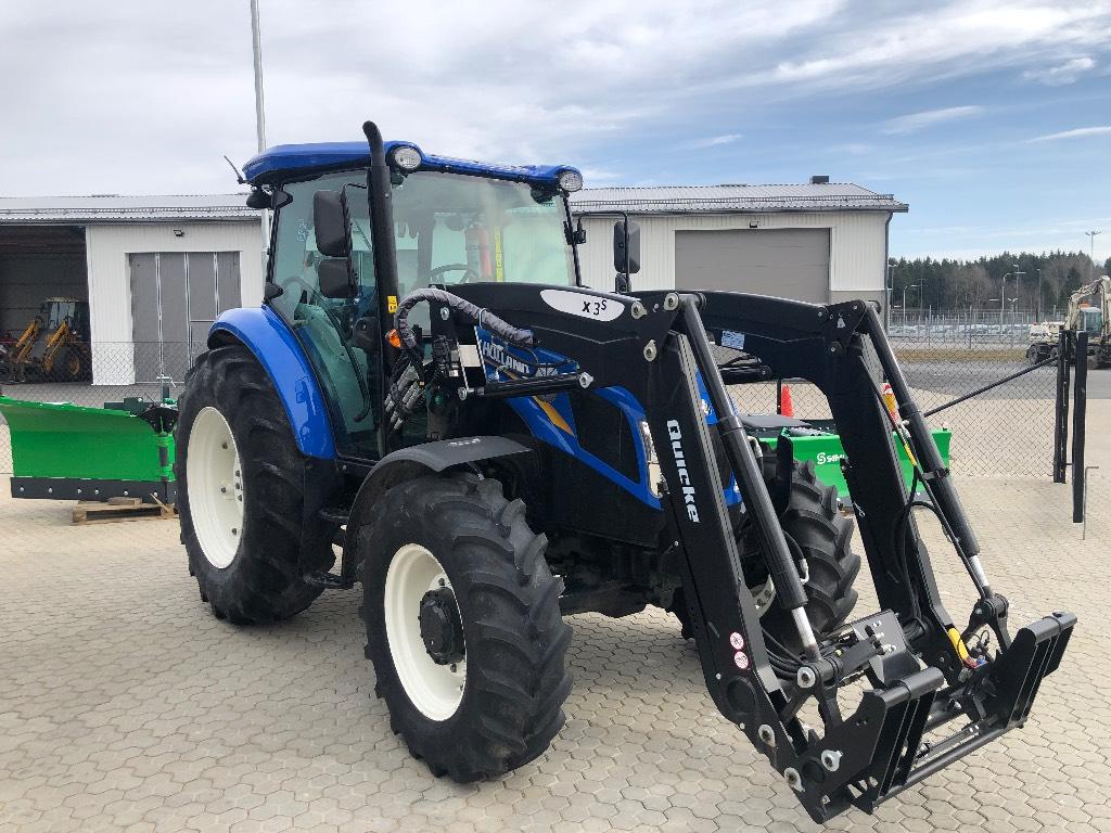 New Holland TD5.85 PS, AC Quicke X3S ny!, Traktorer, Lantbruk