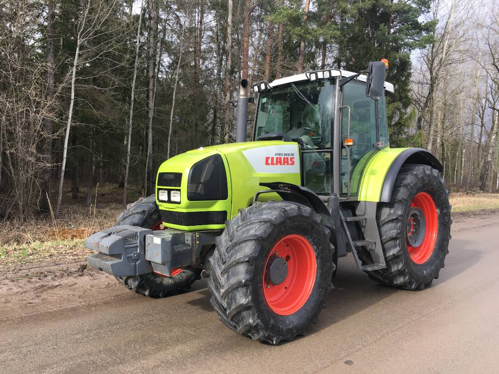CLAAS Ares 826 RZ, Tractors, Agriculture