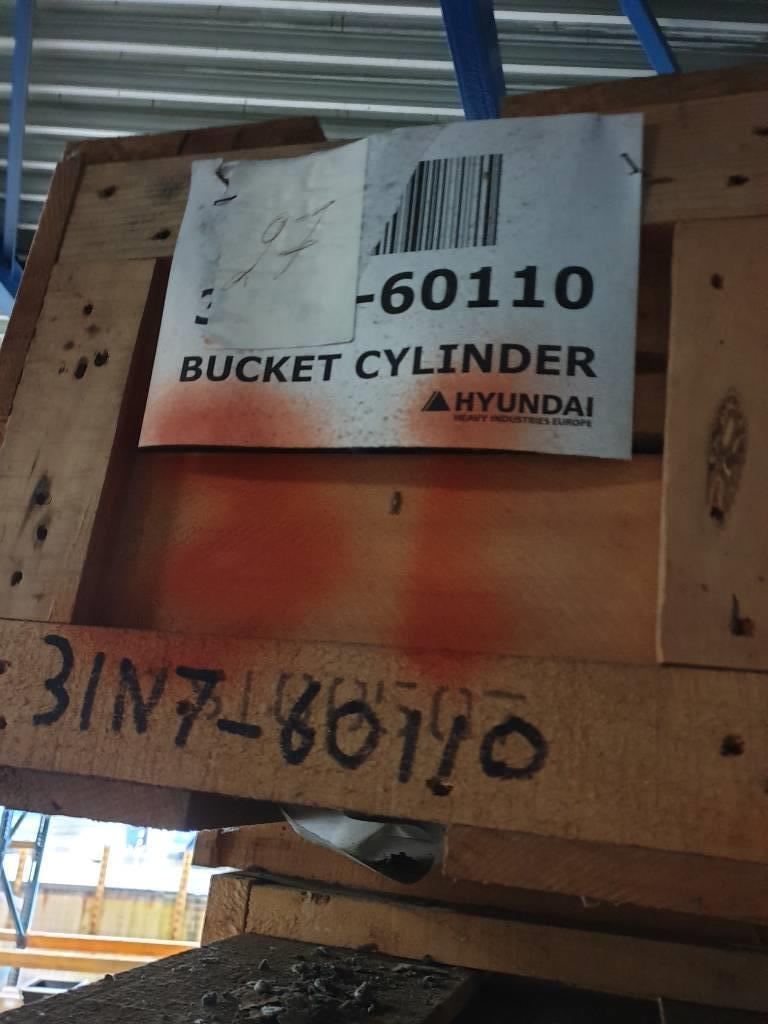 Hyundai Cylinder Bucket Robex 250 LC-7, 31N7-60110, Hydraulics, Construction