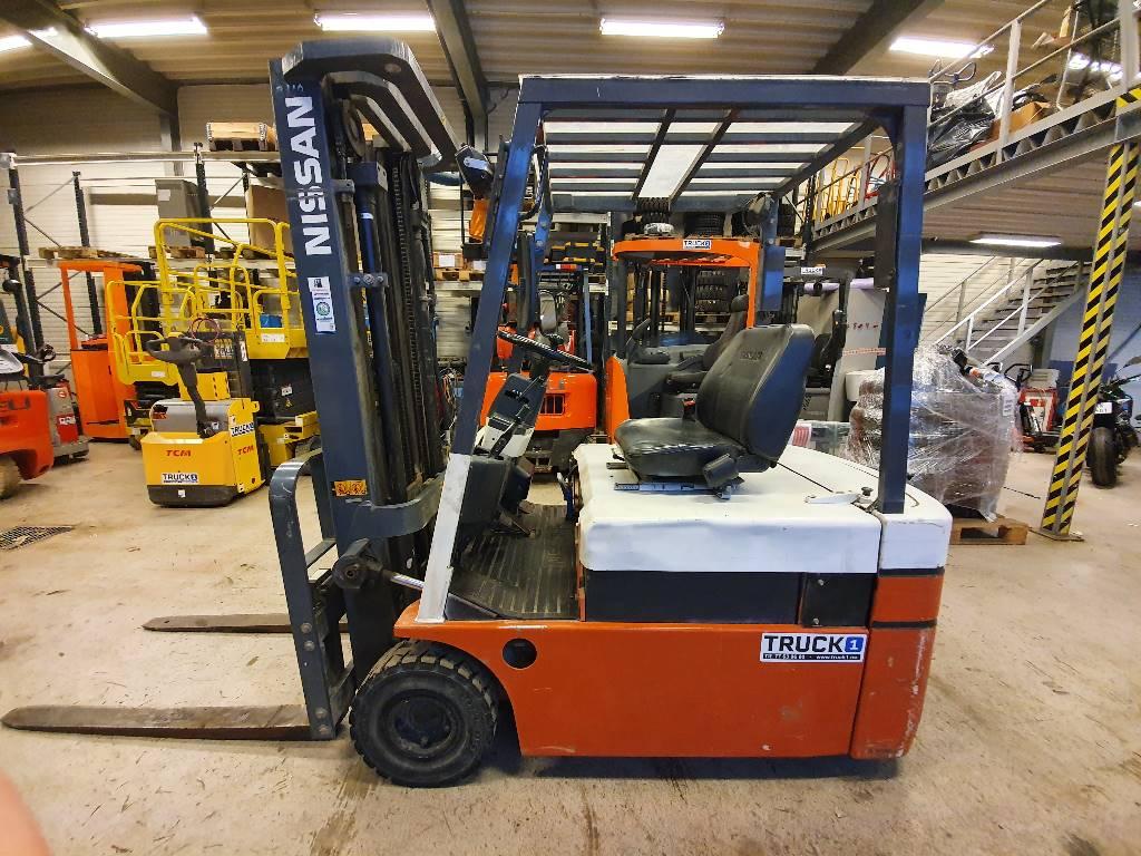 Nissan GN01L16U - 1,6 t el. truck - 4,75 m LH, Elektriske trucker, Truck