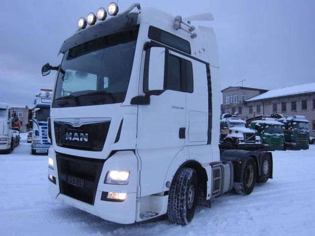 MAN TGX 26.480 EURO6, Sadulveokid, Transport