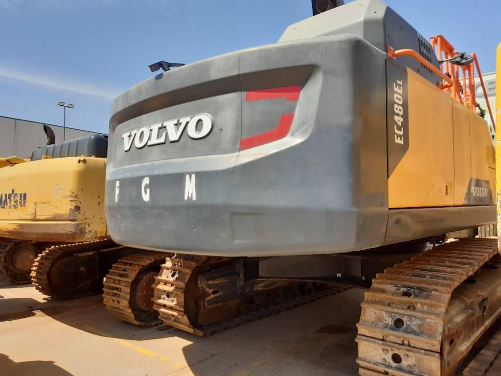 Volvo EC 480 E L, Excavadoras de cadenas, Construcción