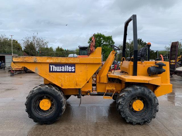 Thwaites 6000, Site dumpers, Construction
