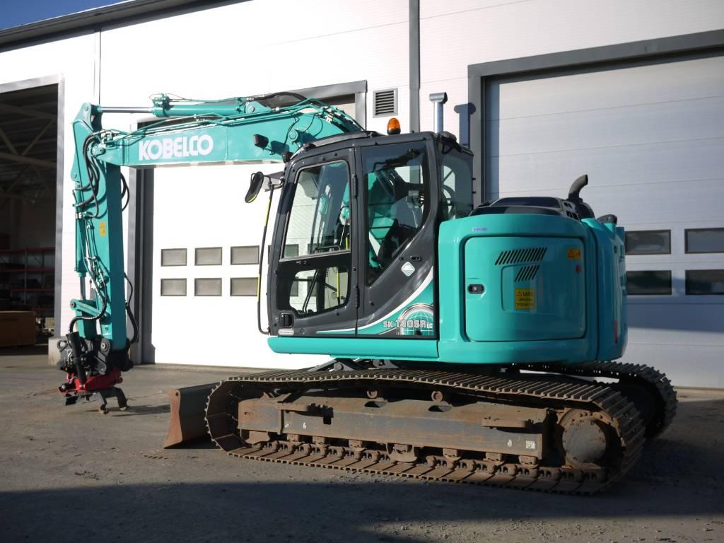 Kobelco SK 140 SRLCD-5 rototilt, Telakaivukoneet, Maarakennus