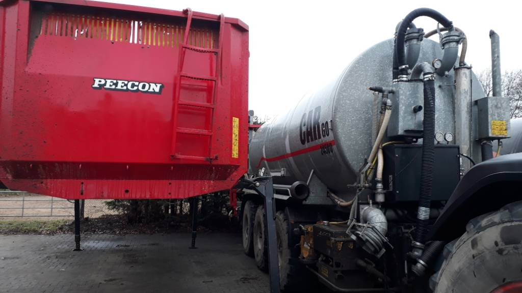 Peecon Cargo, Gierverspreiders, Landbouw
