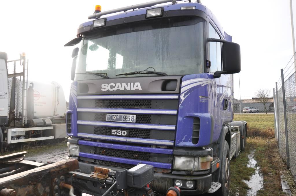 Scania 144 GB6X2NA 530, Lastväxlare/Krokbilar, Transportfordon