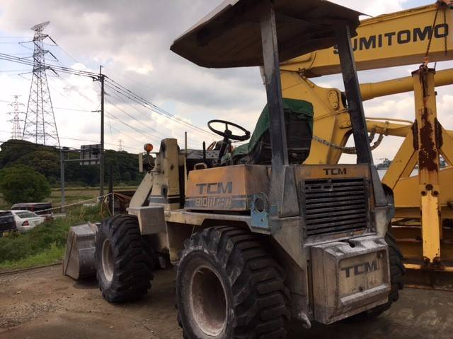 TCM 810, Wheel loaders, Construction