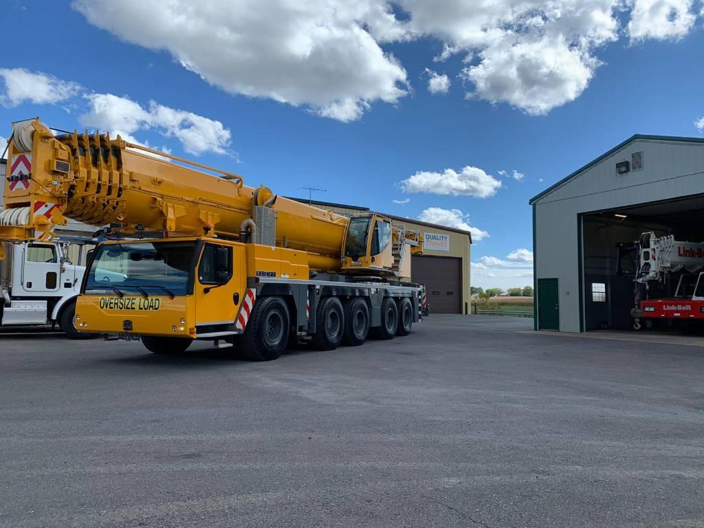 Liebherr LTM1250-5.1, All Terrain Cranes and Hydraulic Truck Cranes, Construction Equipment