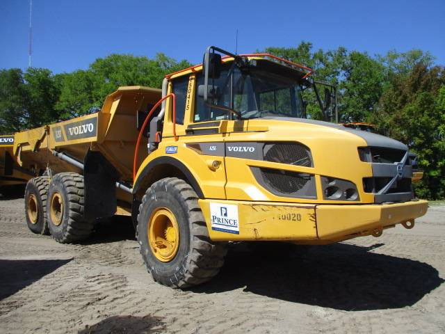 Volvo A25G, Articulated Trucks, Construction Equipment