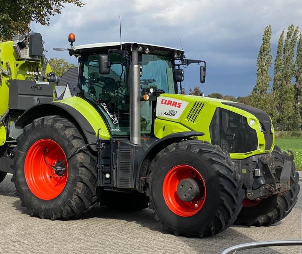 CLAAS Axion 850 Cmatic, Tractoren, Landbouw