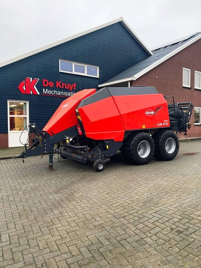 Kuhn lsb 870, Round Balers, Agriculture