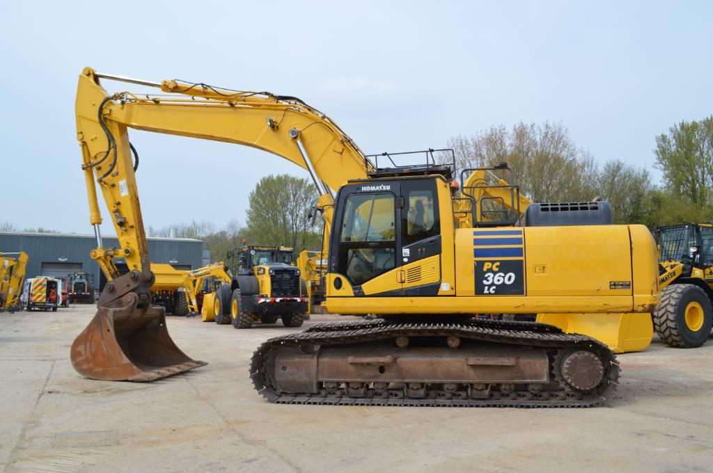 Komatsu PC360LC-10, Crawler excavators, Construction