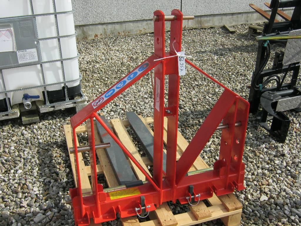 [Other] Pallegaffelsæt 3-punkt, Andre landbrugsmaskiner, Landbrug