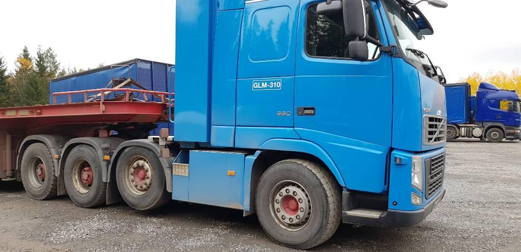 Volvo FH16 660 8x4, Vetopöytäautot, Kuljetuskalusto
