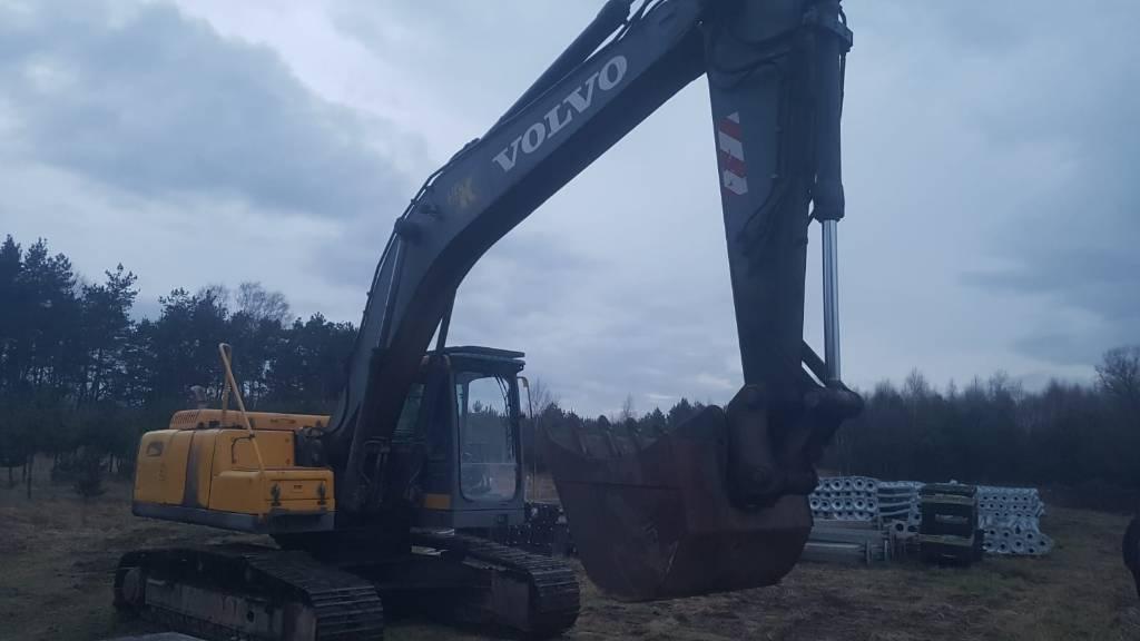 Volvo EC240, Koparki gąsienicowe, Maszyny budowlane