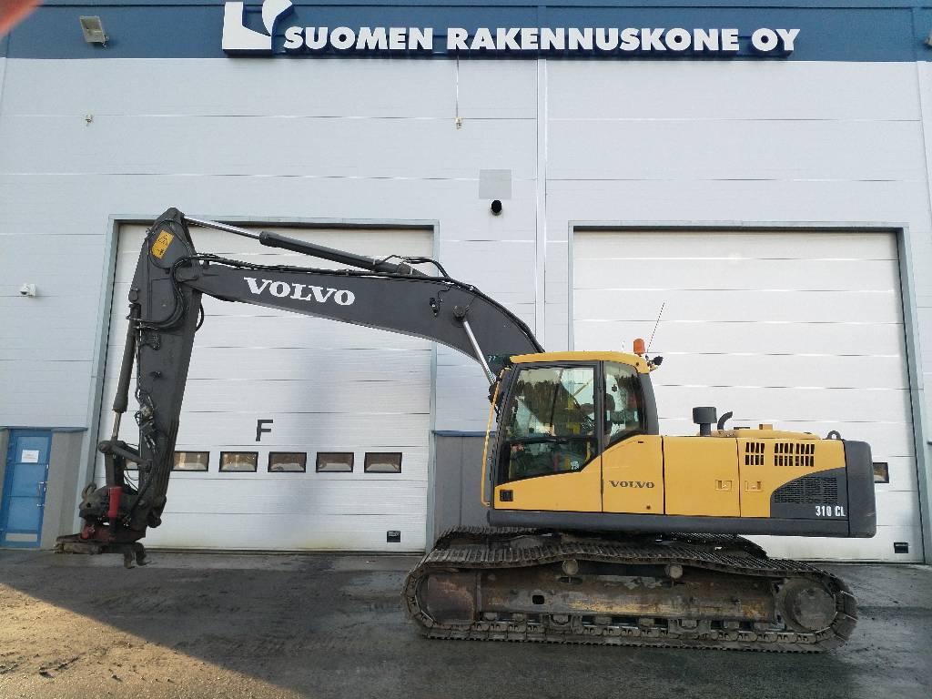 Volvo EC 210 C L, Crawler Excavators, Construction Equipment